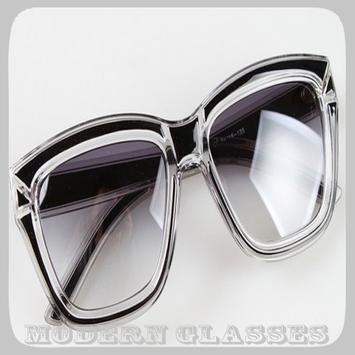 Modern Glasses poster