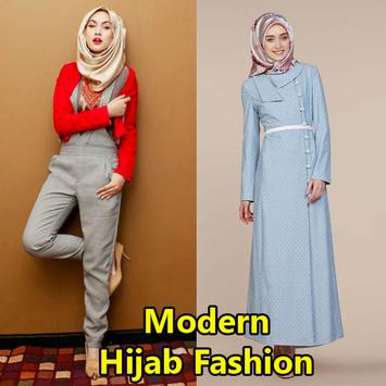 Modern Hijab Fashion poster