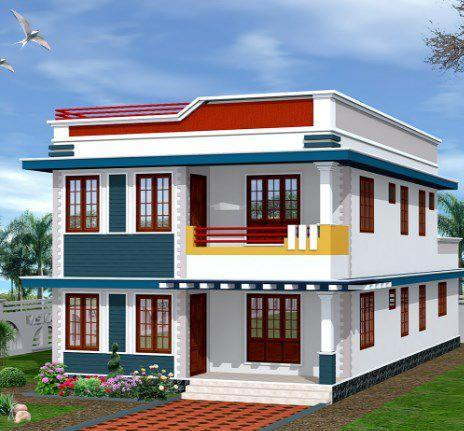 Modern Home Roof Designs poster