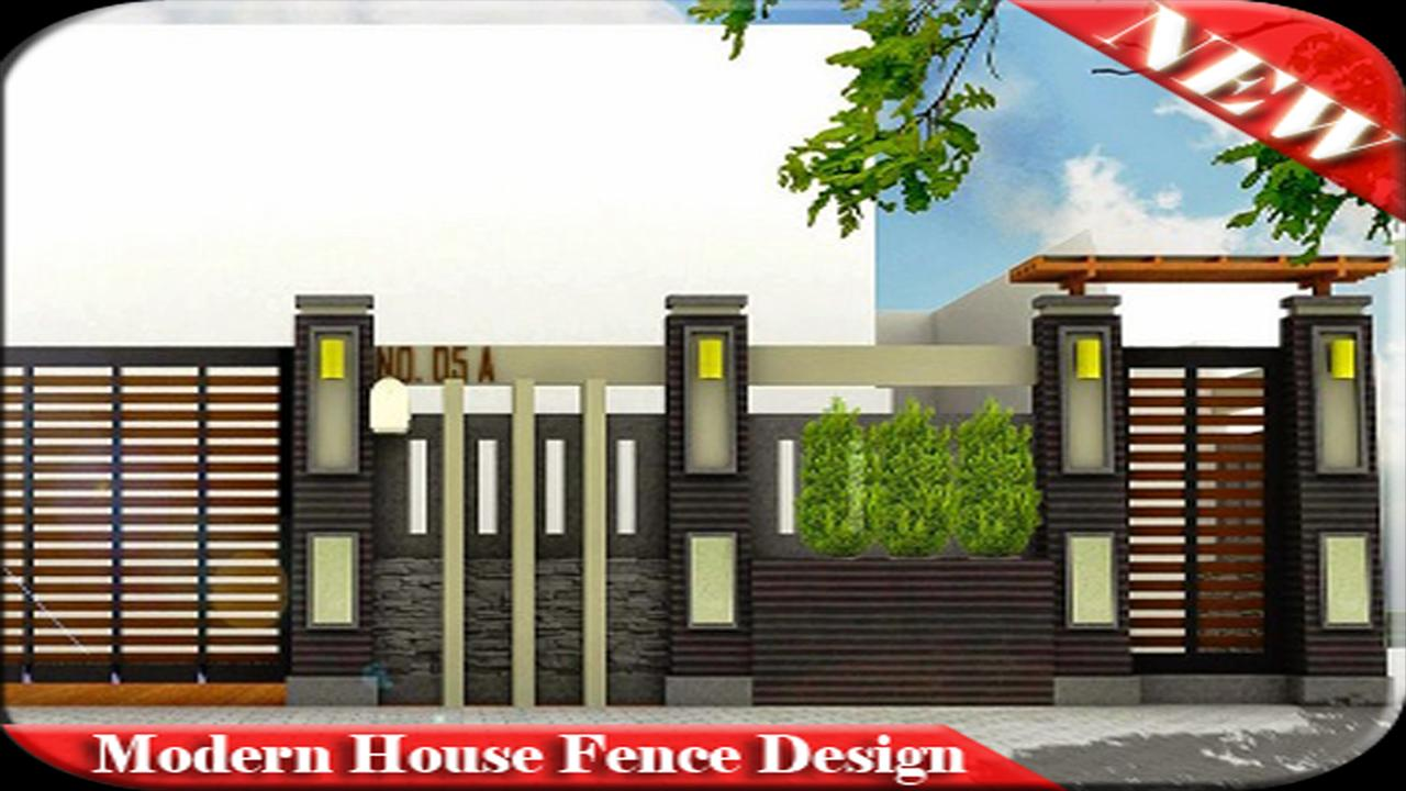 Modern house fence design for android apk download