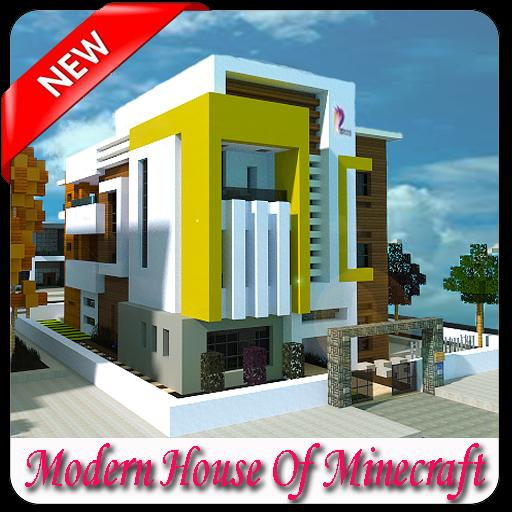 Modern House Of Minecraft poster