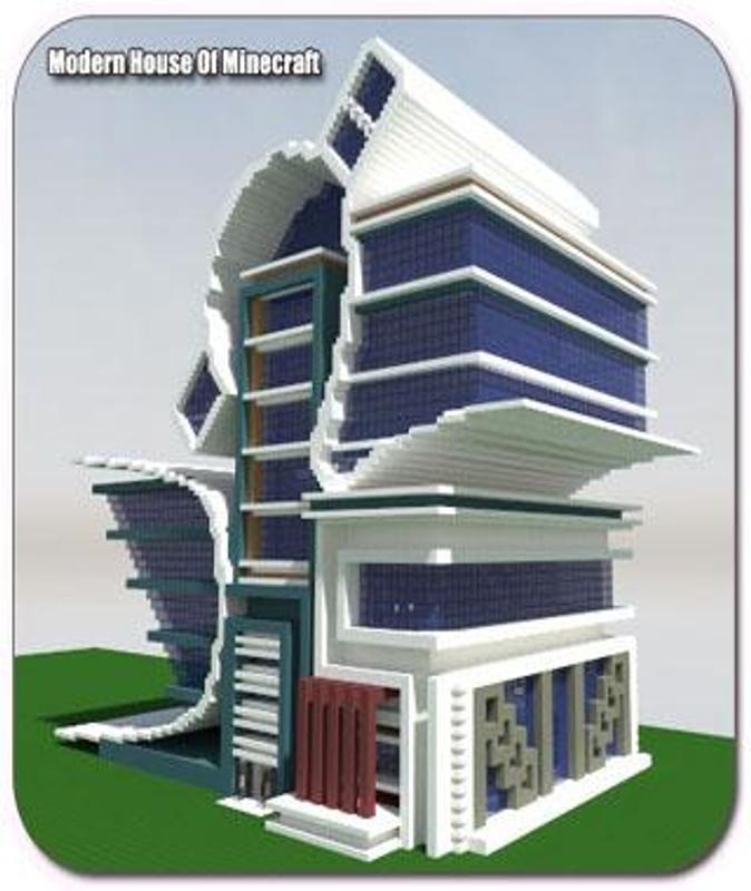 Casa moderna de minecraft apk baixar gr tis estilo de for Casas modernas minecraft 0 9 5