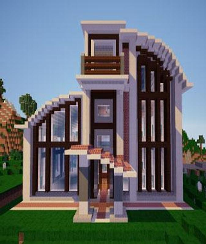 Modern House Of Minecraft Poster Apk Screenshot