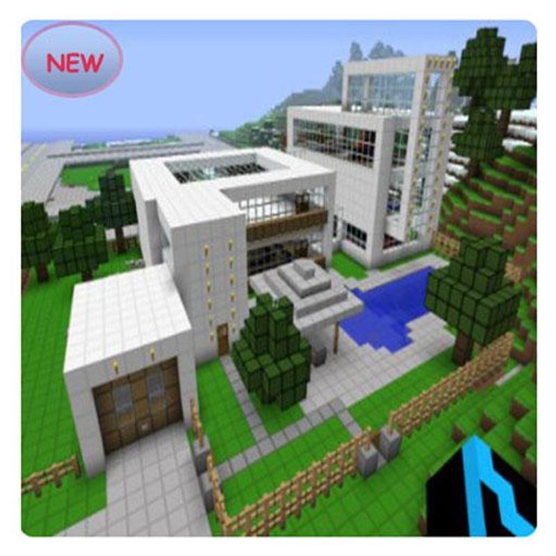 Minecraft casa moderna apk baixar gr tis estilo de vida for Casas modernas minecraft 0 9 5