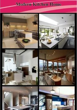 Modern Kitchen Home poster