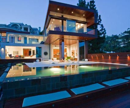 Modern Pool House Design screenshot 5