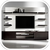 Современный дизайн телевизора иконка