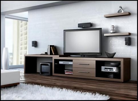 Современный дизайн телевизора постер