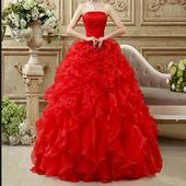 Modern Wedding Gown Design icon