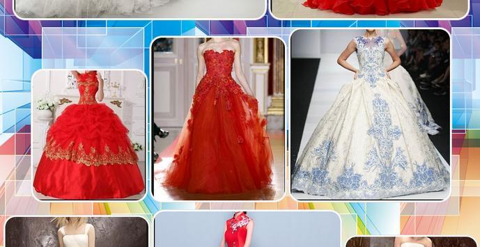 Modern Wedding Gown Design screenshot 2