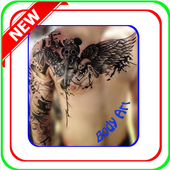 Modern tattoo 2017 icon