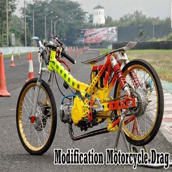 Modification Motorcycle Drag poster