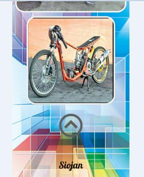 Modification Motorcycle Drag screenshot 2