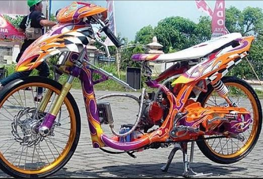 Modification Motorcycle Drag screenshot 7