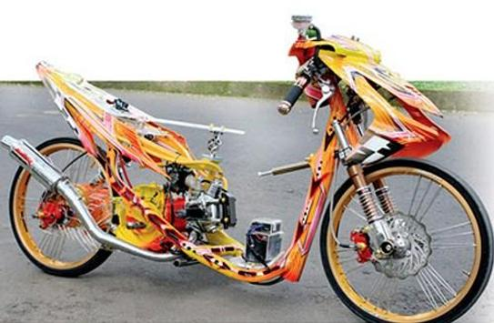 Modification Motorcycle Drag screenshot 4