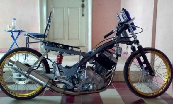 Modification Motorcycle Drag screenshot 5