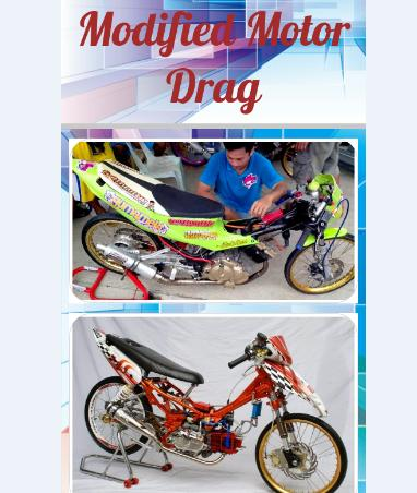 Modified Motor Drag poster