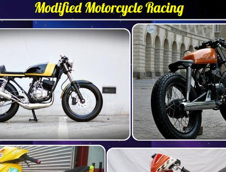 Modified Motorcycle Racing poster