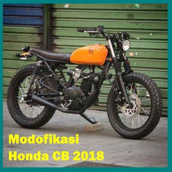 Ide Modifikasi Honda CB edisi 2018 poster