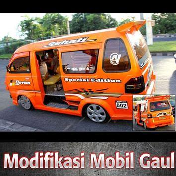Modifikasi Mobil Gaul poster