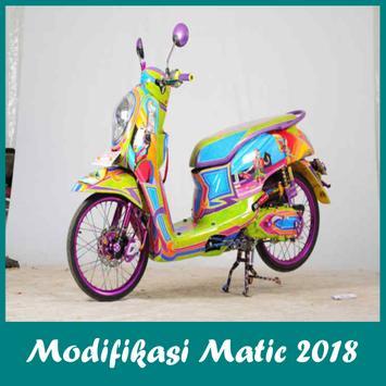 Ide Modifikasi Motor Matic Edisi 2018 poster