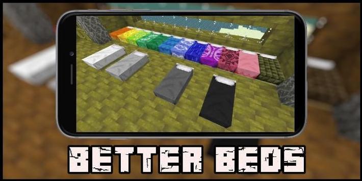 Better Beds Mod for MCPE screenshot 1