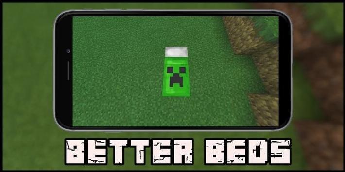 Better Beds Mod for MCPE screenshot 2