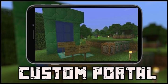 Custom Portal Map for MCPE poster
