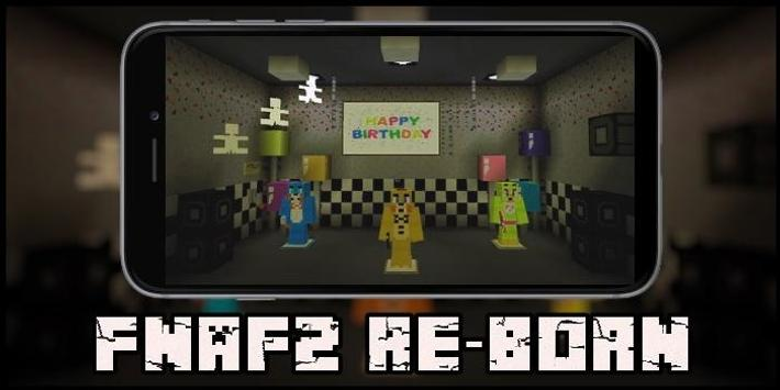 MAP FnAF2 Re-Creation for MCPE poster
