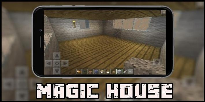 Magic House Map for MCPE poster