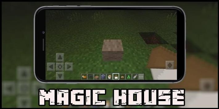Magic House Map for MCPE screenshot 1