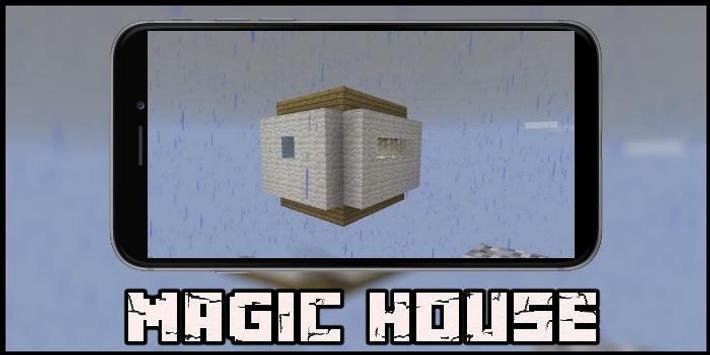 Magic House Map for MCPE screenshot 2