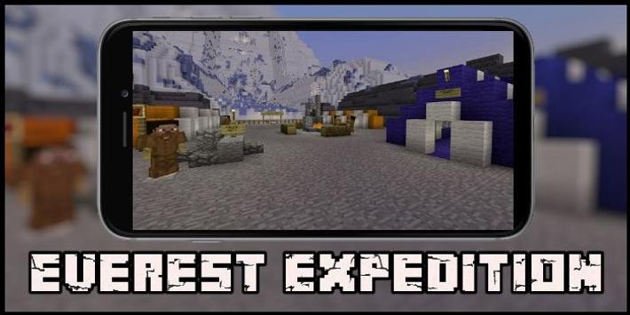 Map Everest Expedition for MCPE screenshot 1