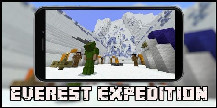 Map Everest Expedition for MCPE screenshot 2