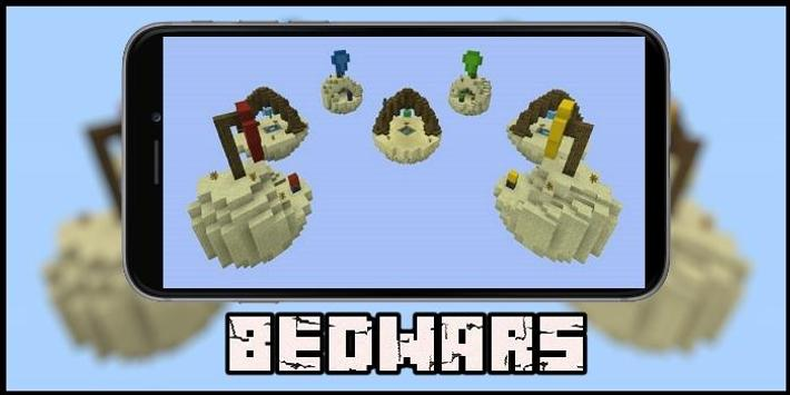 Map Improved Bed Wars for MCPE poster