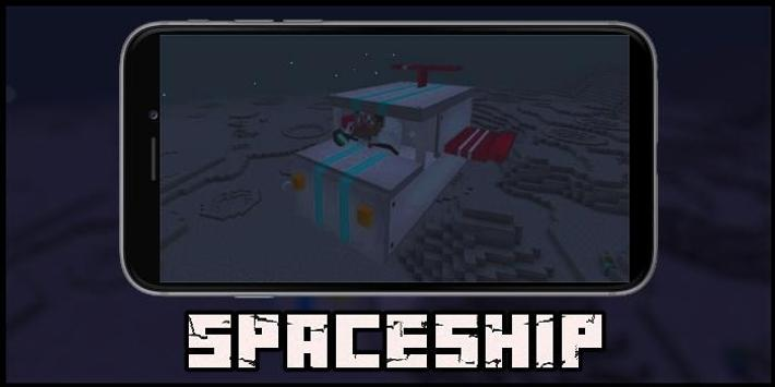 Spaceship Mod for MCPE poster