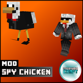 Spy Chicken Skin for MCPE icon
