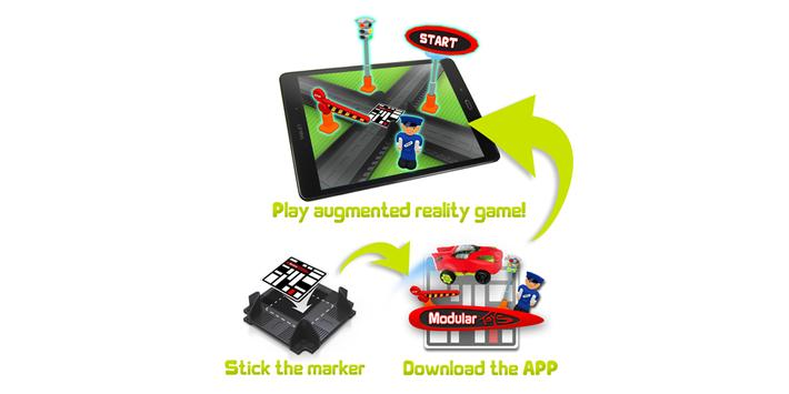 Modular Toys racetrack apk screenshot