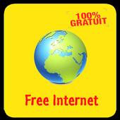 Free Mobile Internet icon