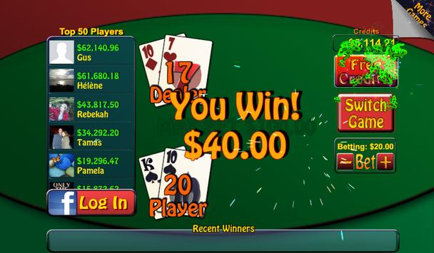 Video Poker & Blackjack Casino screenshot 3