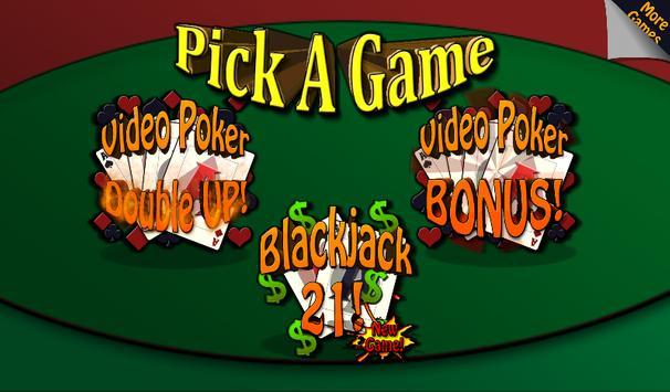 Video Poker & Blackjack Casino screenshot 1