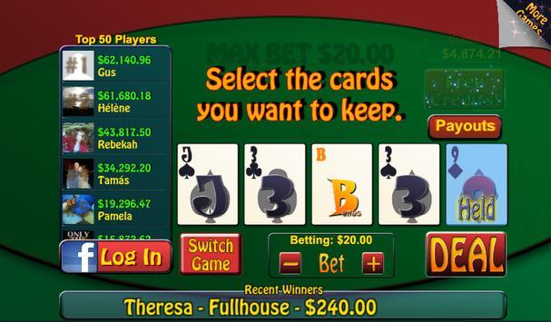 Video Poker & Blackjack Casino screenshot 6
