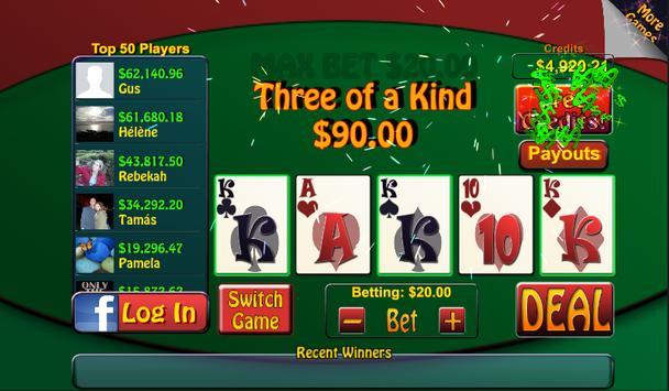 Video Poker & Blackjack Casino screenshot 8