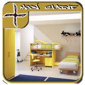 Teenage Bedroom Design Ideas icon
