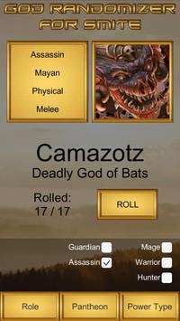 God Randomizer for Smite screenshot 1