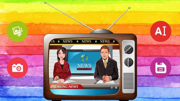 News Anchor Photo Frames apk screenshot