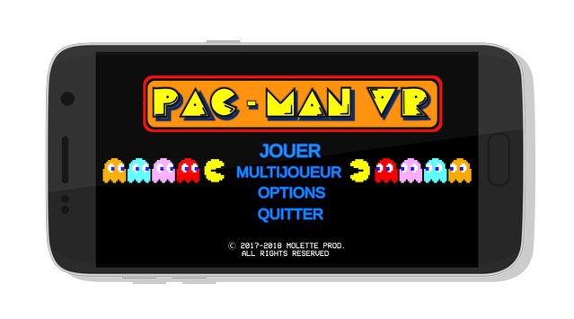 Pac Man VR poster