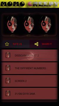 MOMO CREEPY ,3AM CHALLENGE. +666 screenshot 4