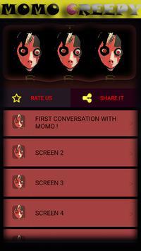 MOMO CREEPY ,3AM CHALLENGE. +666 screenshot 5