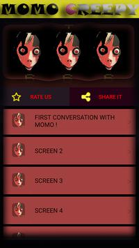MOMO CREEPY ,3AM CHALLENGE. +666 screenshot 6